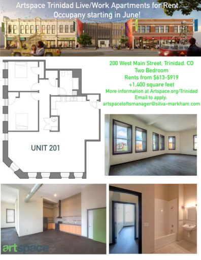 Floorplan number 1 for Artspace Live/work apartments for rent