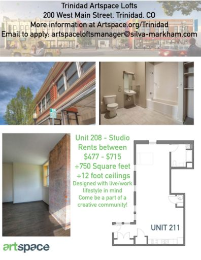 Floorplan number 3 for Artspace Live/work apartments for rent