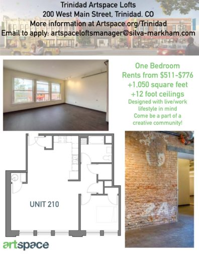 Floorplan number 2 for Artspace Live/work apartments for rent