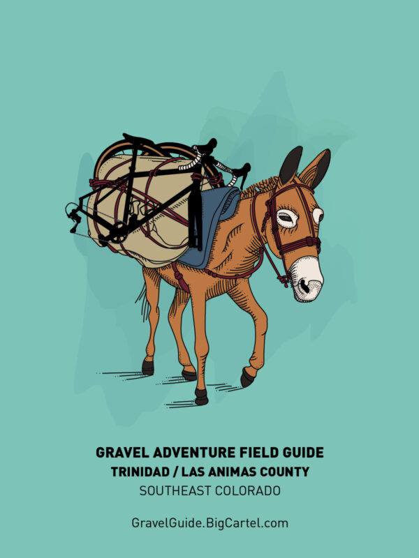 Gravel Adventure Field Guide - back cover Trinidad/Las Animas County